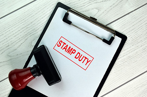 For stamp duty